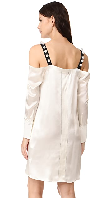 3.1 Phillip Lim Cold Shoulder Dress
