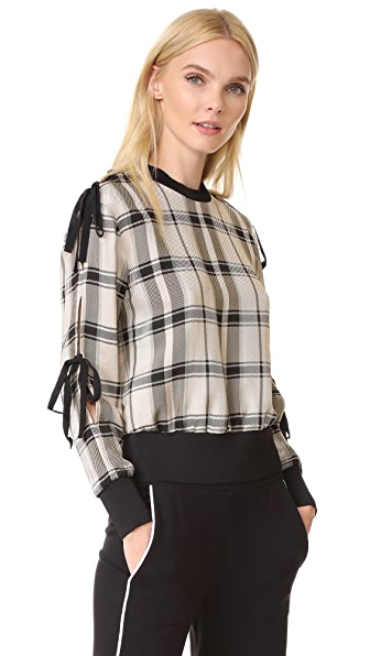 3.1 Phillip Lim Check Top