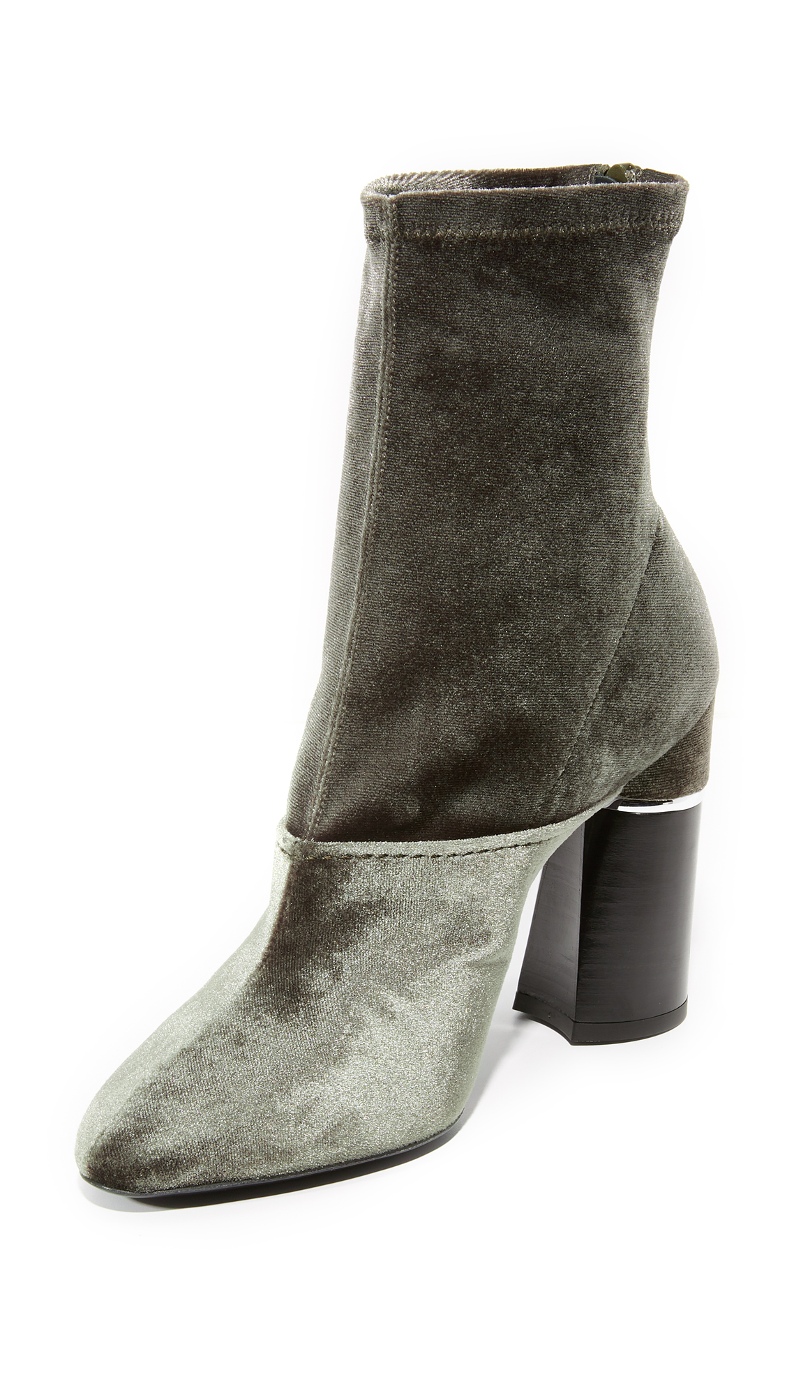 3.1 Phillip Lim Kyoto Booties - Olive