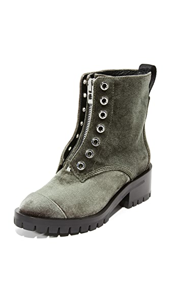 3.1 Phillip Lim Lug Sole Boots - Olive