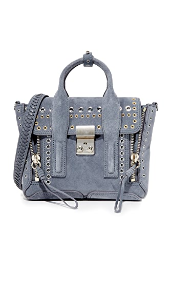3.1 Phillip Lim Pashli Mini Satchel - Ash Blue
