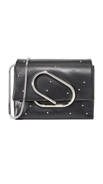 3.1 Phillip Lim Alix Micro Cross Body Bag - Black