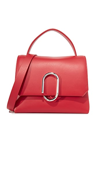 3.1 Phillip Lim Alix Mini Top Handle Satchel - Scarlet