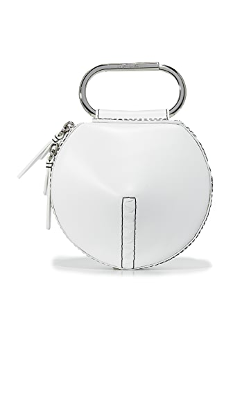3.1 Phillip Lim Alix Circle Clutch - White