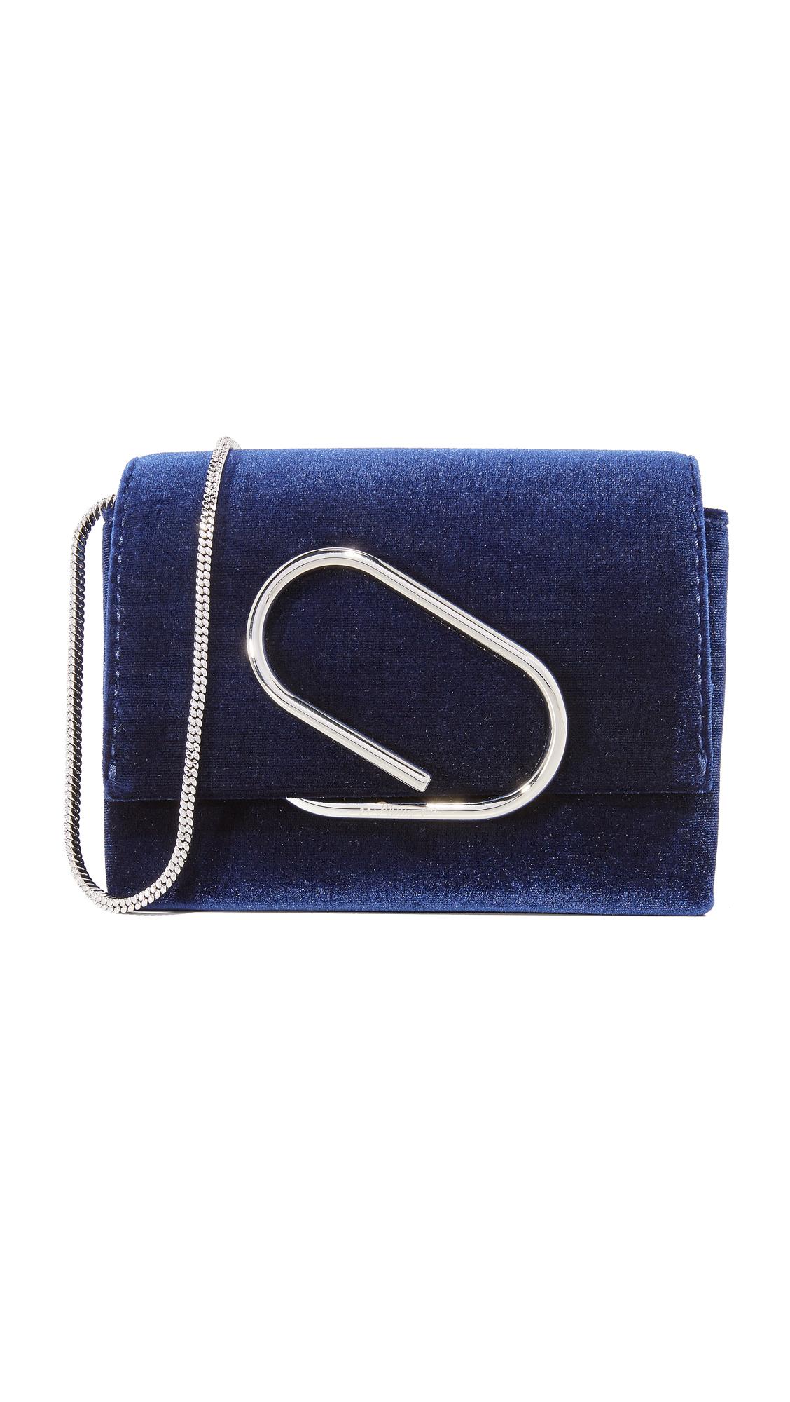 3.1 Phillip Lim Alix Micro Cross Body Bag - Royal Blue