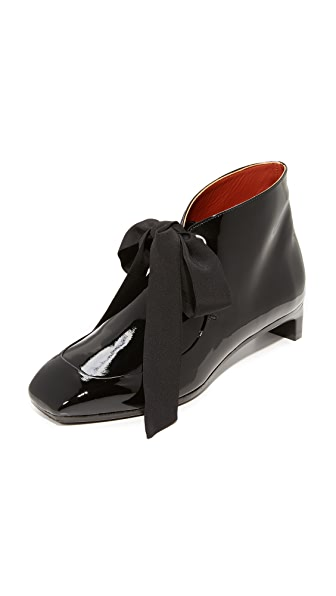 3.1 Phillip Lim Blade Desert Booties - Black