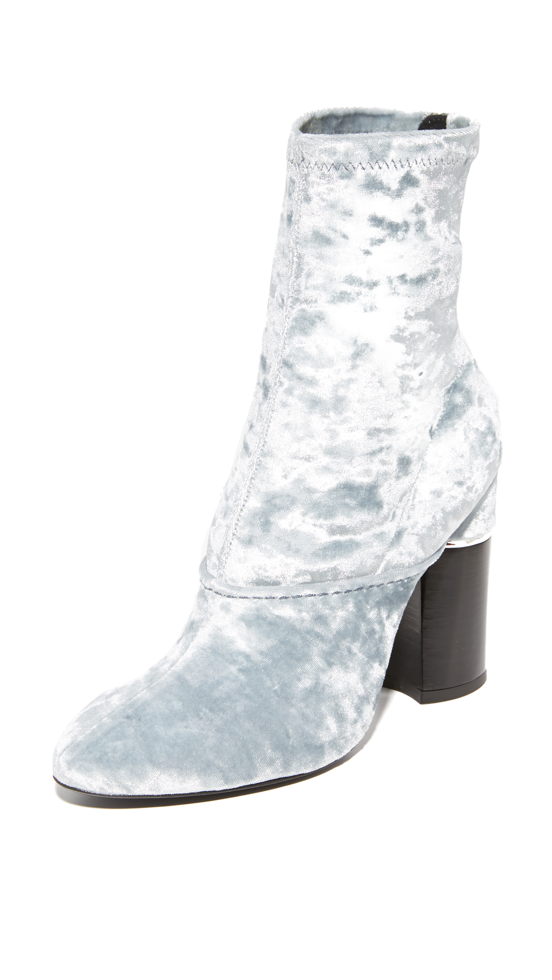 3.1 Phillip Lim Kyoto Stretch Ankle Booties - Cloud