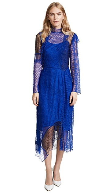 3.1 Phillip Lim Lace Patchwork Dress