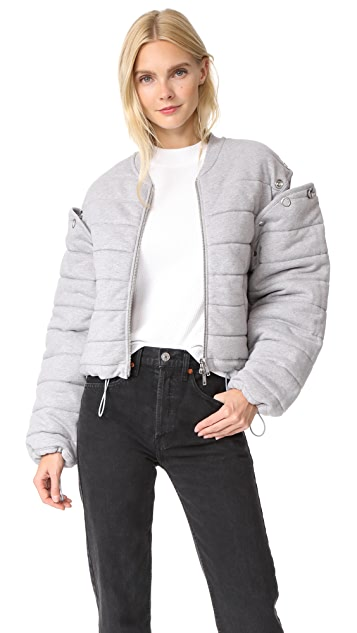 3.1 Phillip Lim Quilted Removable Sleeve Jacket