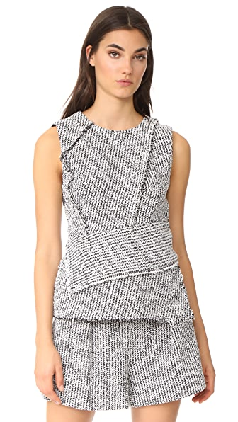 3.1 Phillip Lim Sleeveless Wrap Top