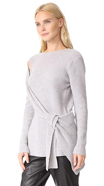 3.1 Phillip Lim Draped Sweater