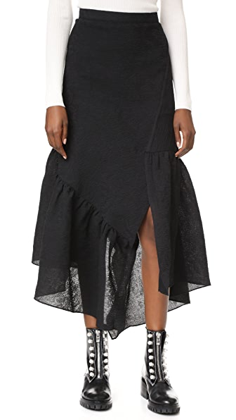 3.1 Phillip Lim Skirt with Asymmetrical Hem