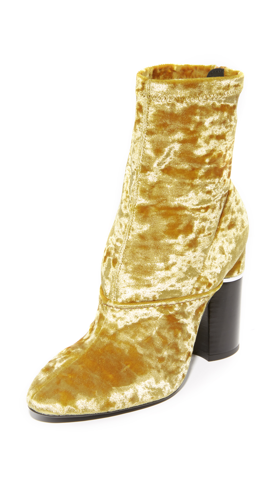 3.1 Phillip Lim Kyoto Booties - Gold