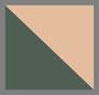 Hunter Green Tort/Rust