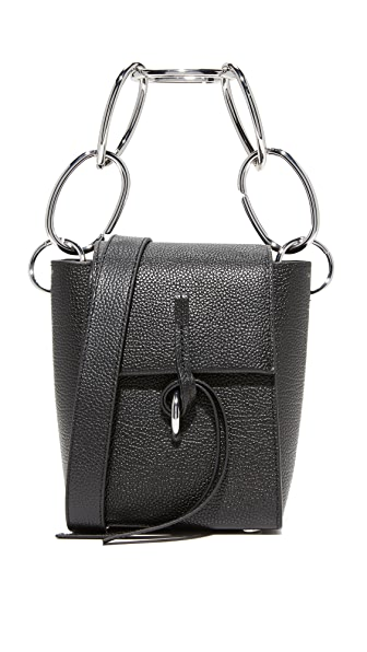 3.1 Phillip Lim Leigh Small Top Handle Bag - Black