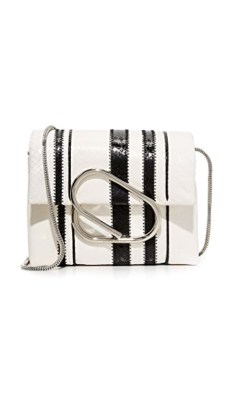 3.1 Phillip Lim Alix Micro Cross Body Bag - Black/White