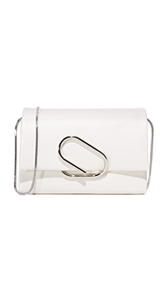 3.1 Phillip Lim Alix Soft Flap Clutch - Soft White