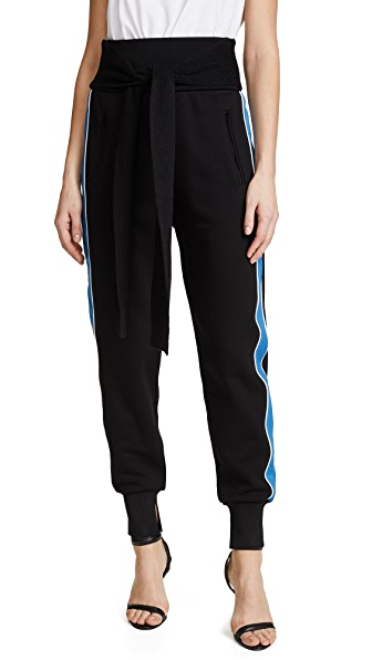 3.1 Phillip Lim Jogger Pants with Tie at Shopbop