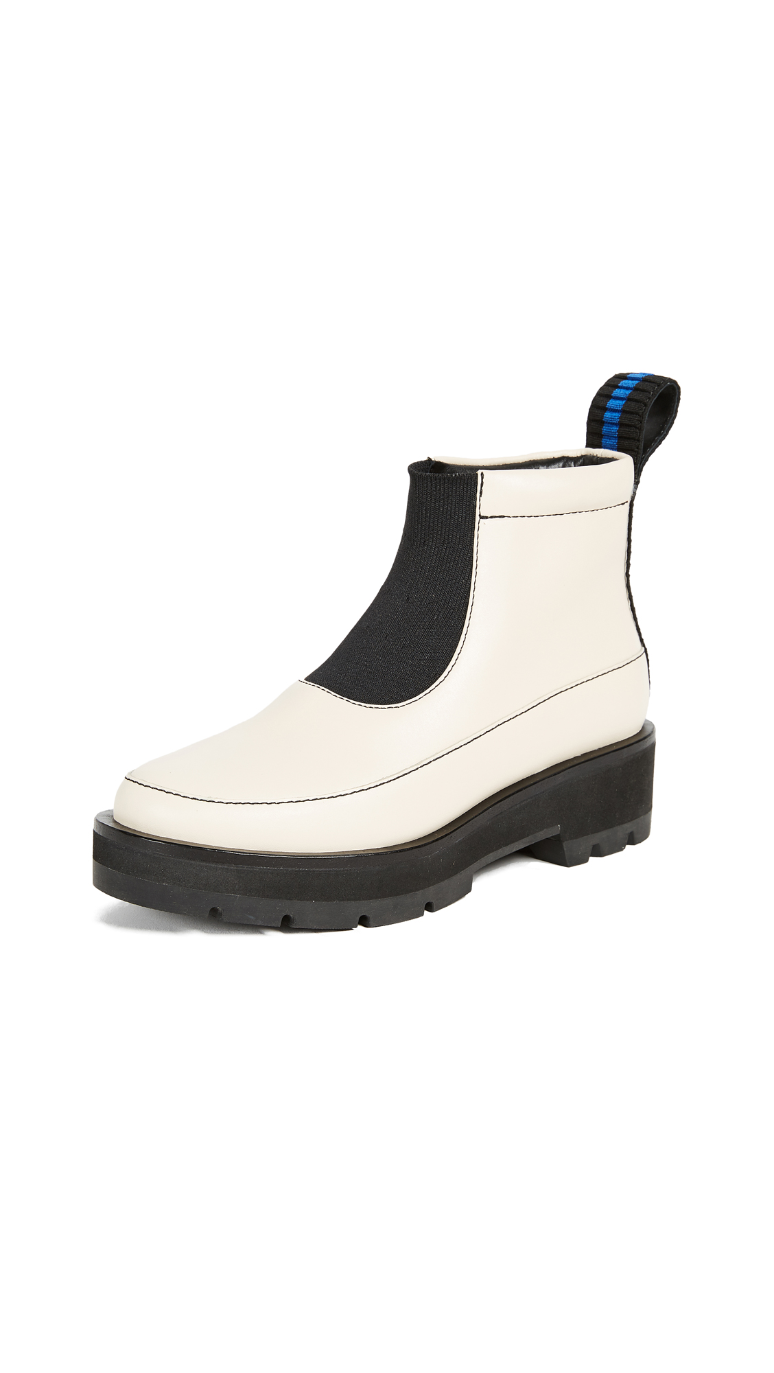 3.1 Phillip Lim Avril Boots - Vanilla