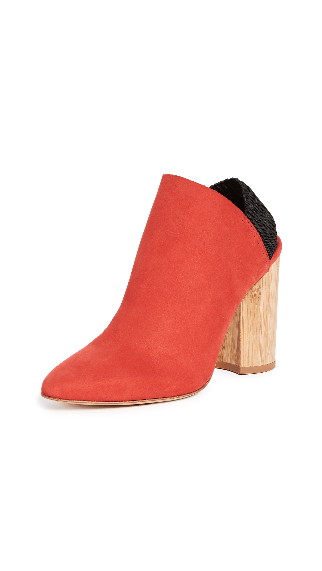 3.1 Phillip Lim Drum Slingback Booties - Amaranth