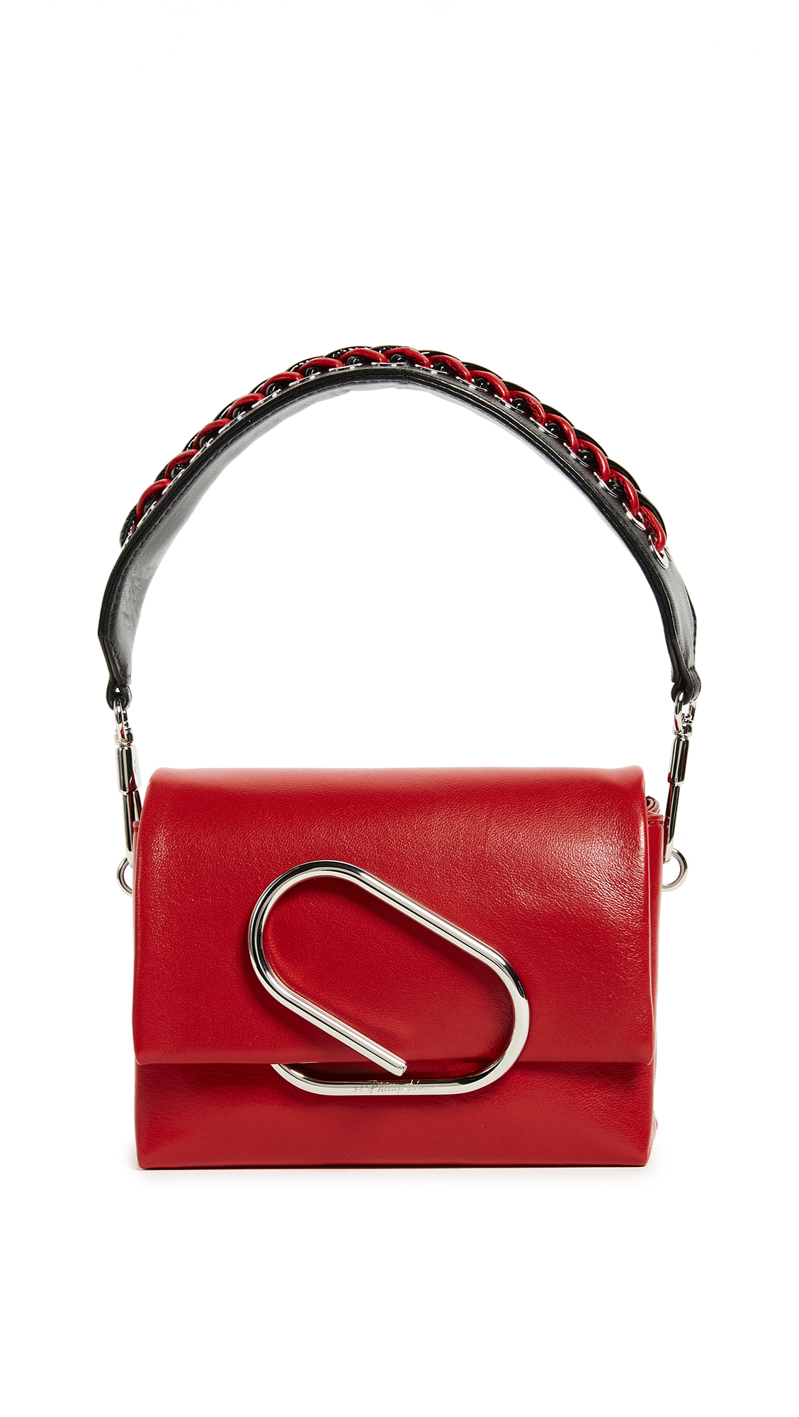 3.1 Phillip Lim Alix Micro Sport Cross Body Bag - Scarlet