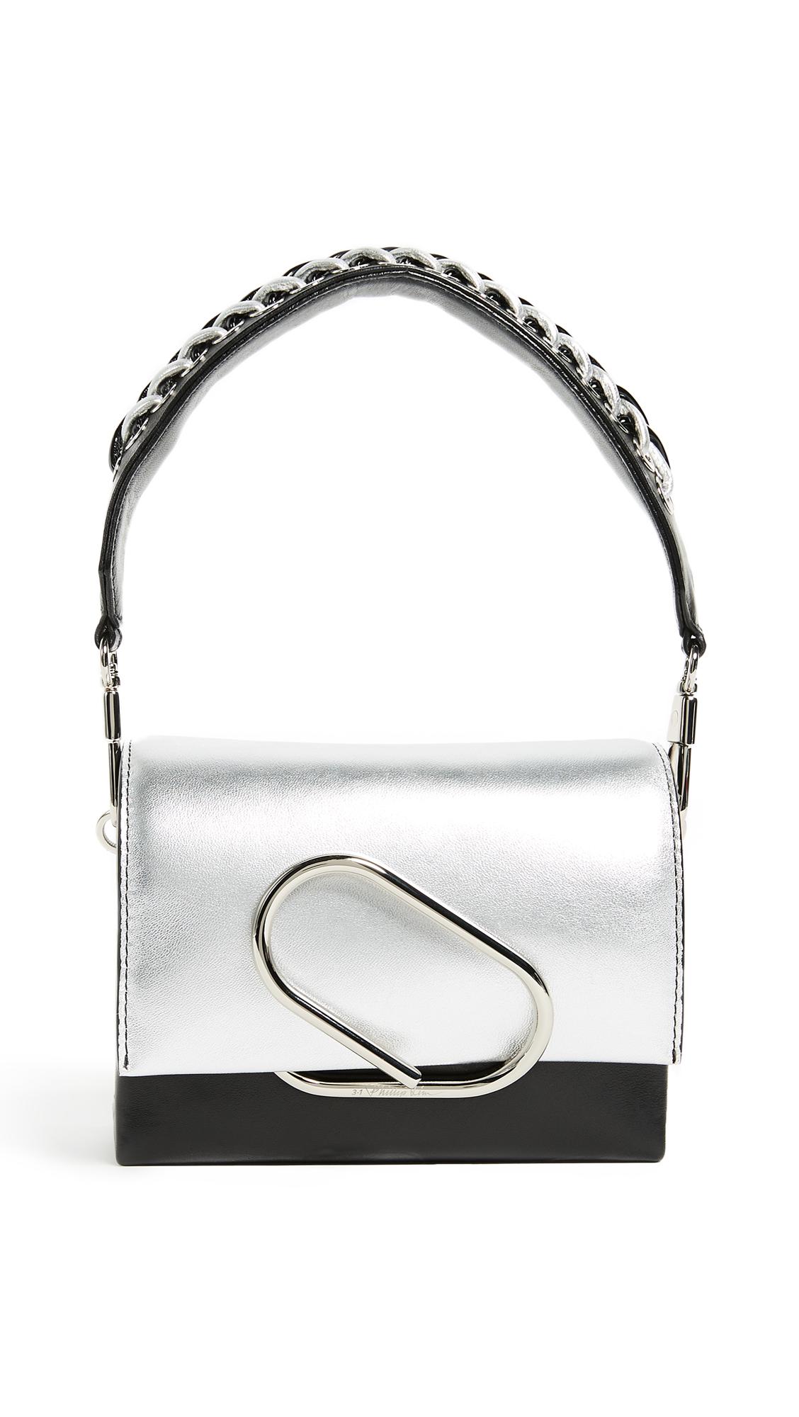 3.1 Phillip Lim Alix Micro Sport Cross Body Bag - Silver/Black