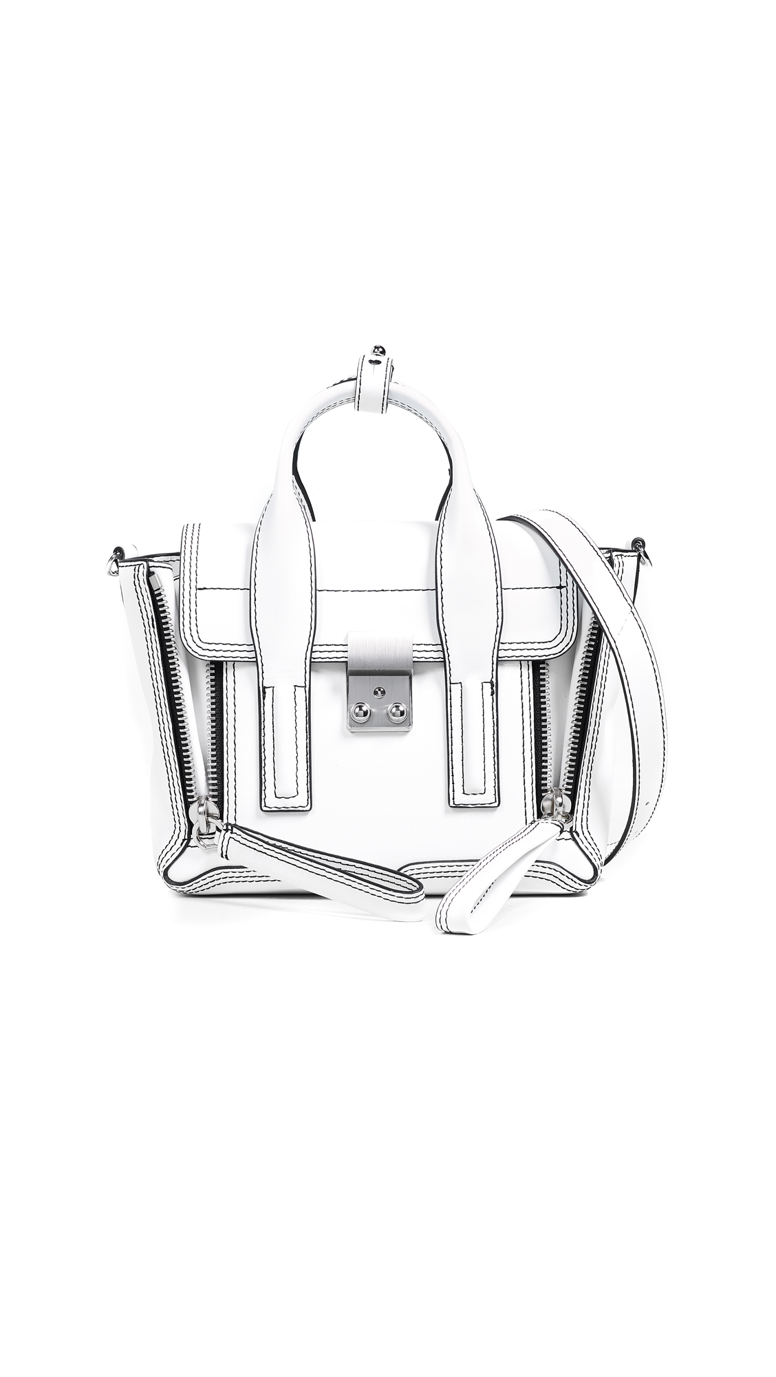 3.1 Phillip Lim Pashli Mini Satchel - White