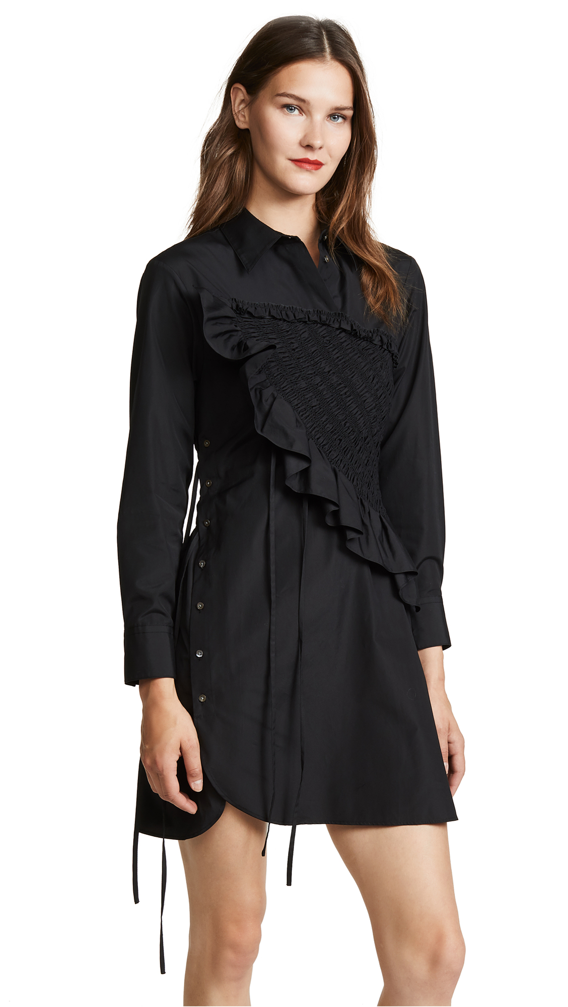 Buy 3.1 Phillip Lim online - photo of 3.1 Phillip Lim Asymmetrical Shirtdress