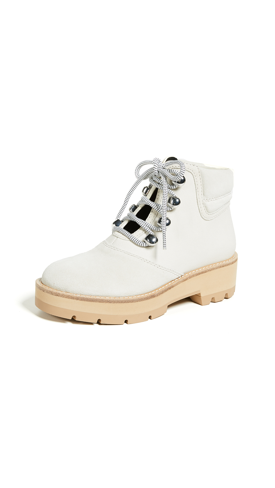 3.1 Phillip Lim Dylan Hiking Boots - Natural