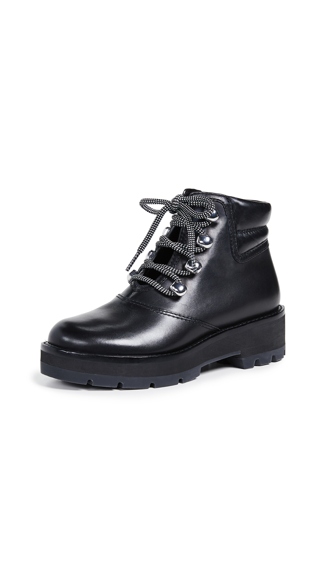 3.1 Phillip Lim Dylan Hiking Booties - Black