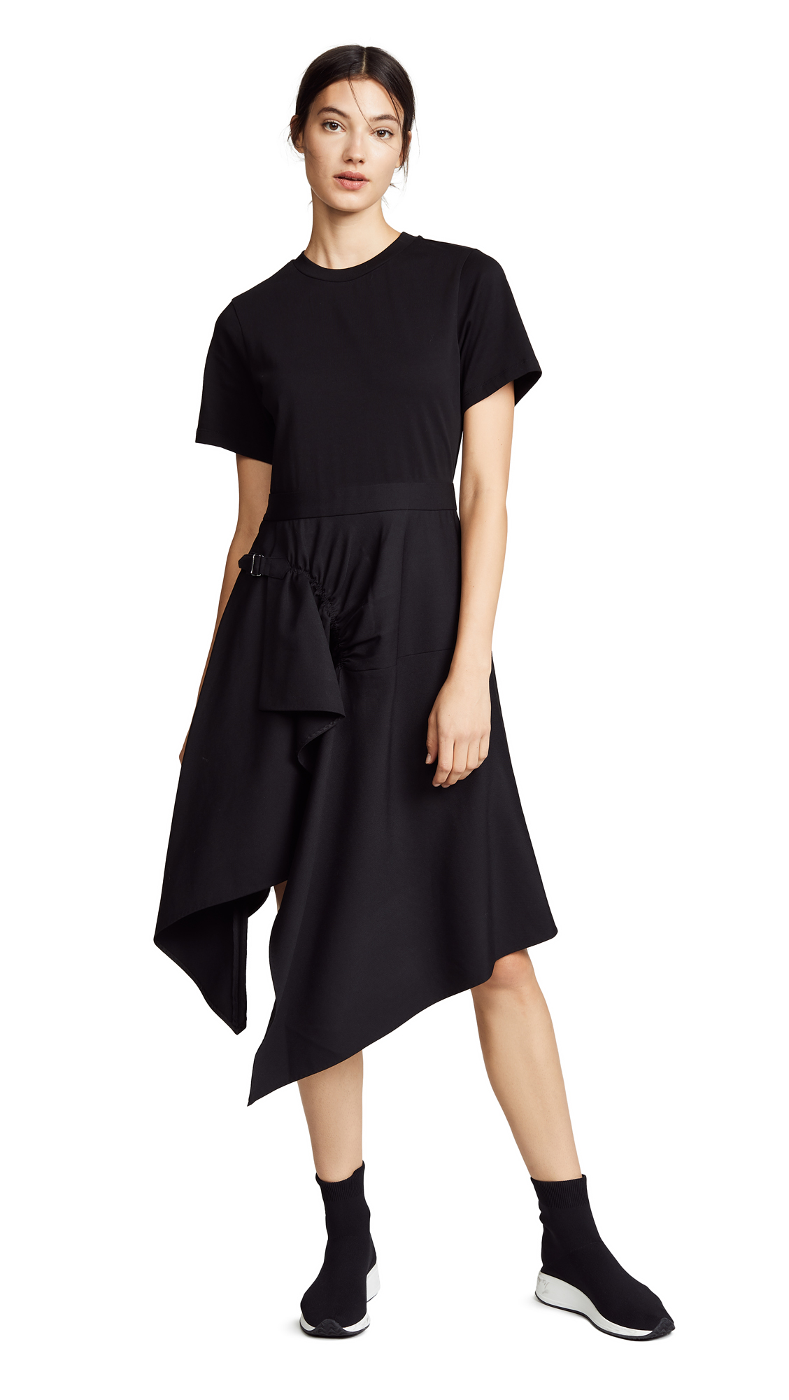 3.1 Phillip Lim Handkerchief Dress - Black