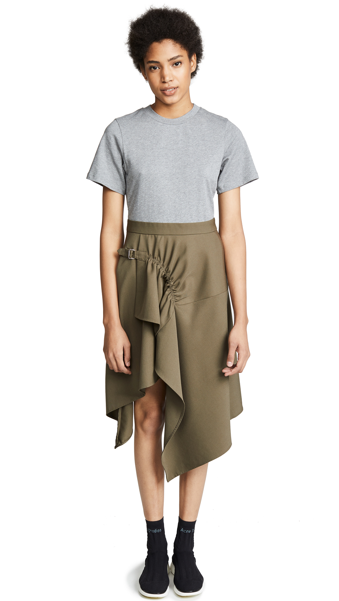 3.1 Phillip Lim Handkerchief Dress - Fir Green