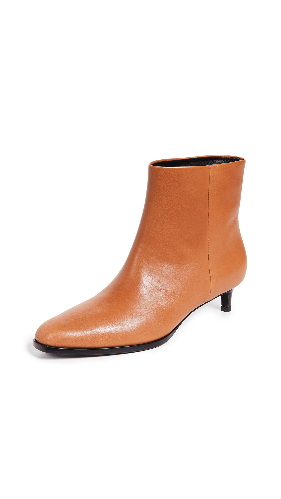 3.1 Phillip Lim Agatha Ankle Booties - Cognac