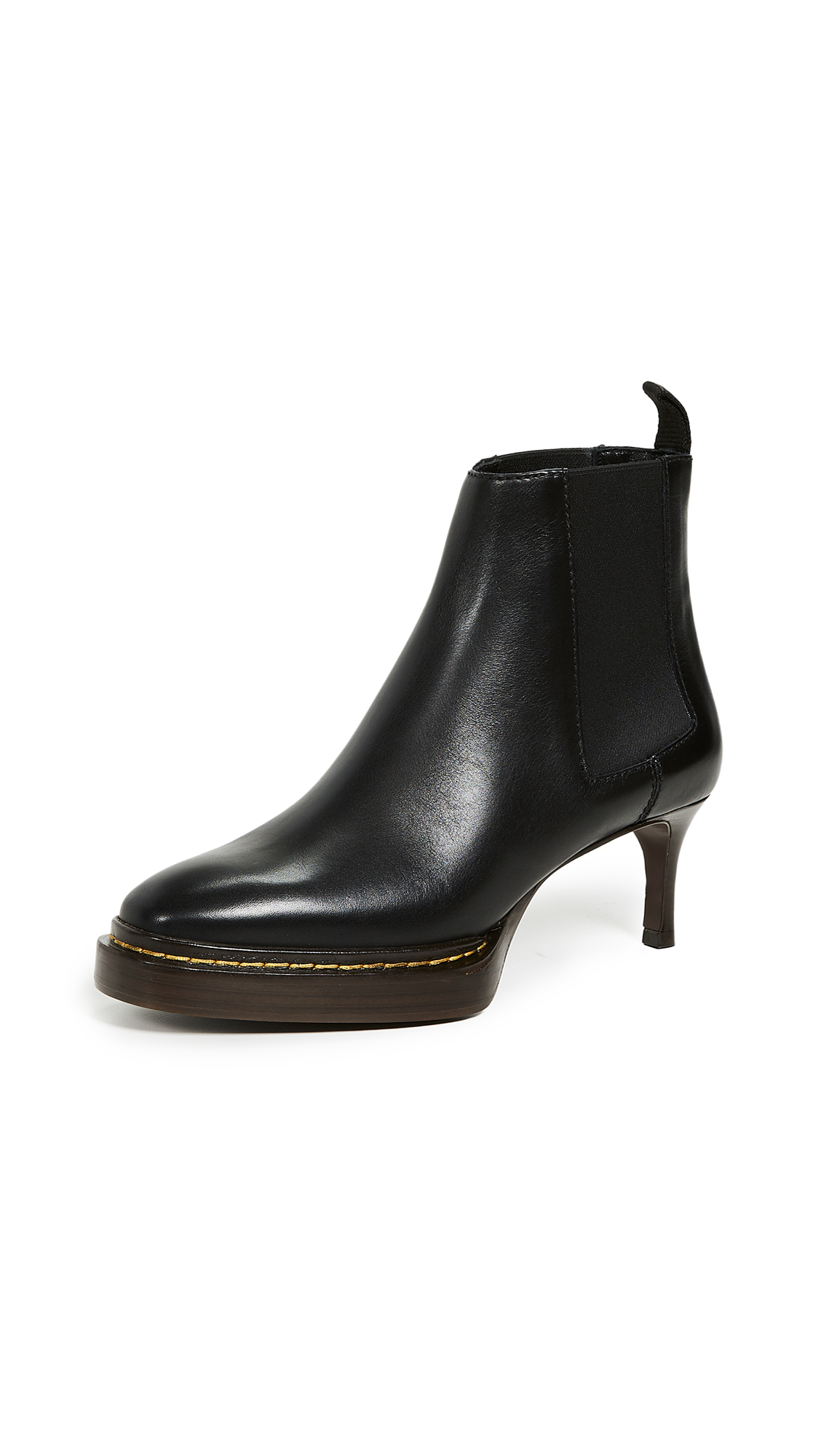 3.1 Phillip Lim Florence Chelsea Booties - Black