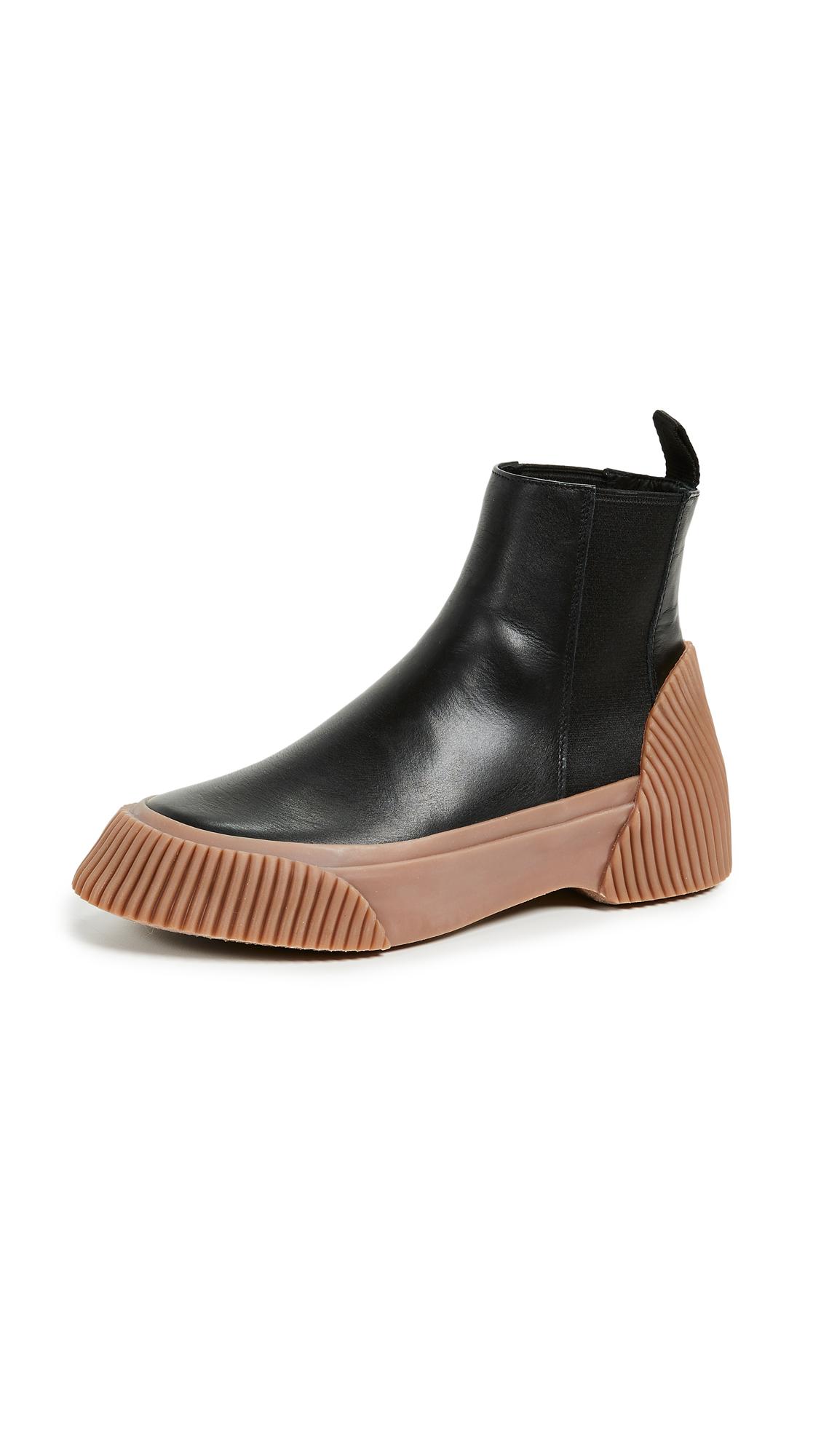 3.1 Phillip Lim Lela Vulcanized Chelsea Boots - Black