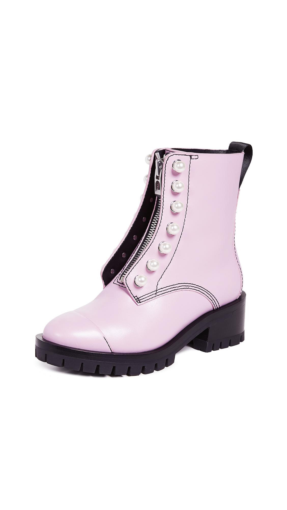 3.1 Phillip Lim Hayett Lug Sole Boots - Blossom