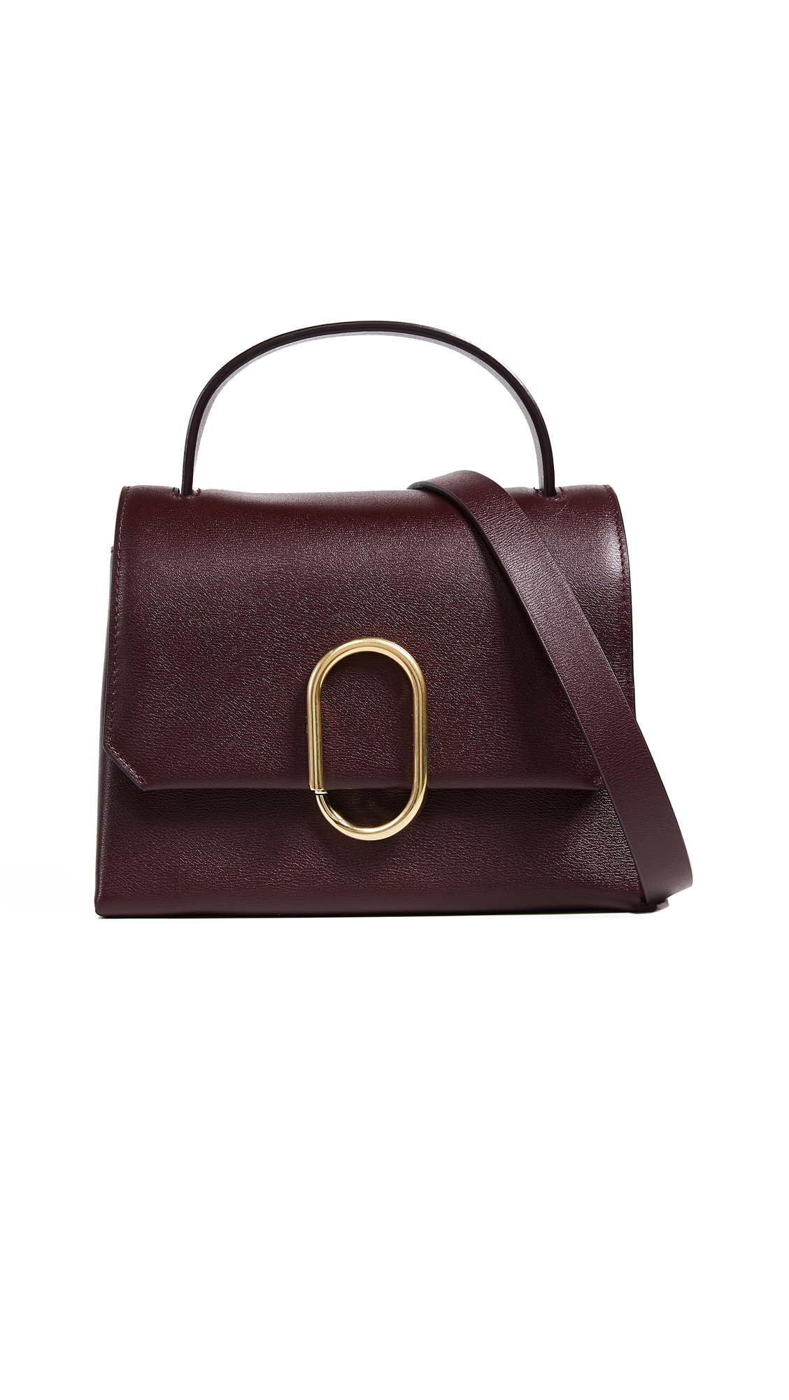 3.1 Phillip Lim Alex Mini Top Handle Satchel - Bordeaux