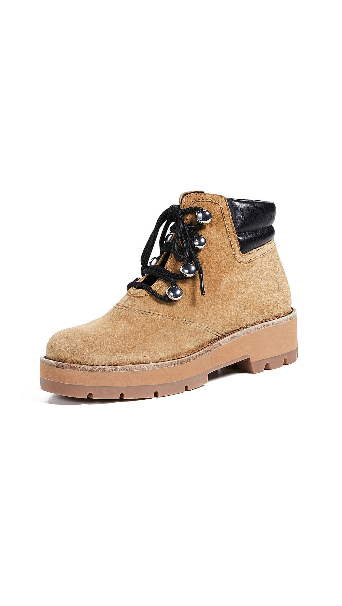 3.1 Phillip Lim Dylan Hiking Boots - Oak