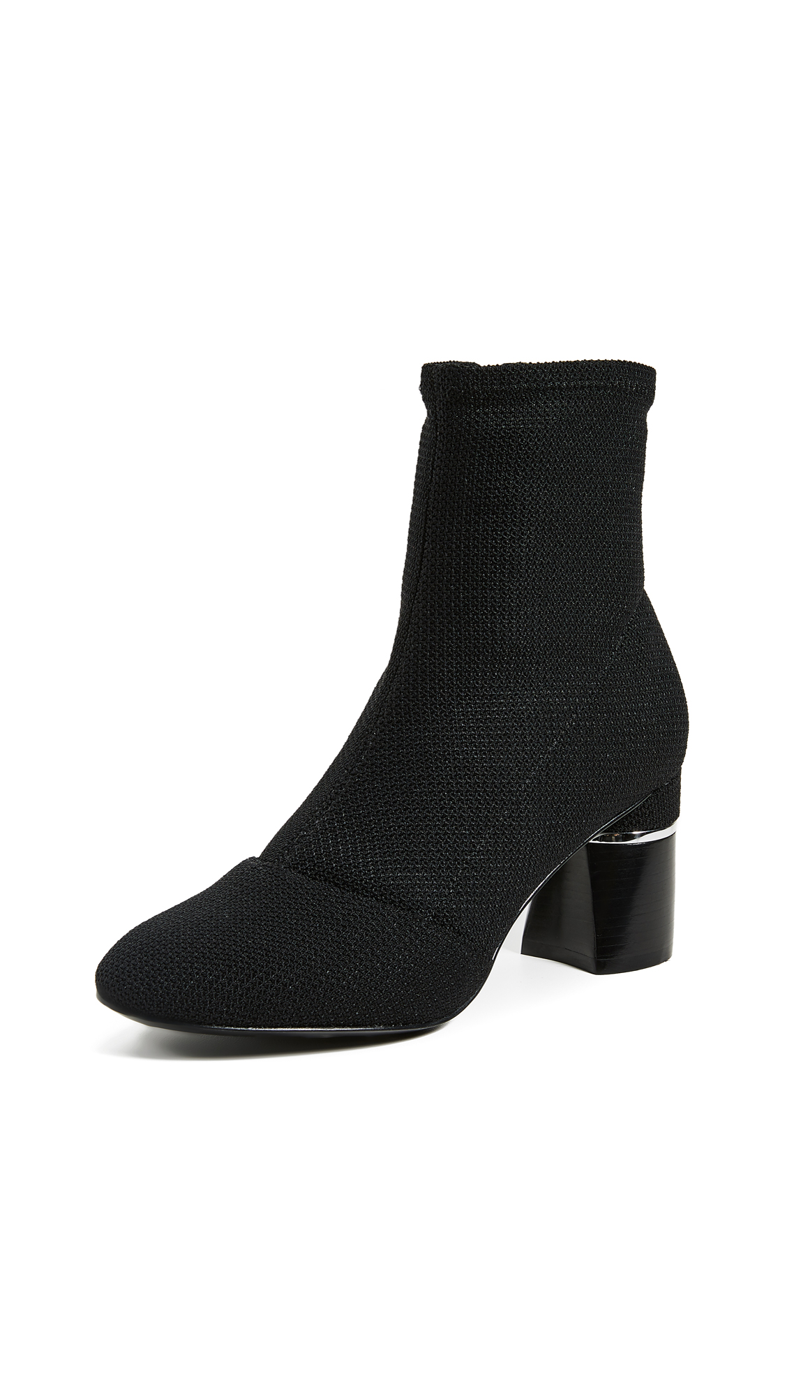 3.1 Phillip Lim Drum Ankle Boots - Black