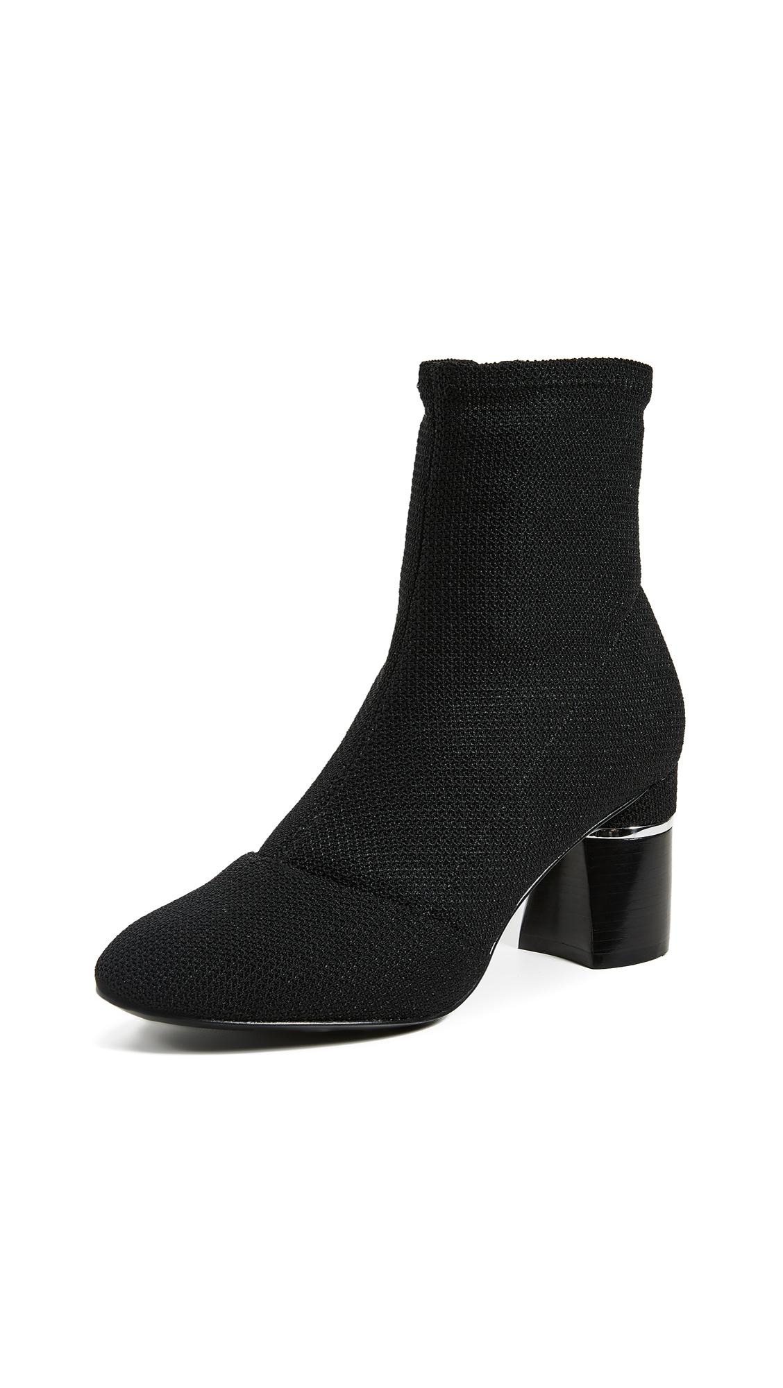 3.1 Phillip Lim Drum Ankle Boots - Black