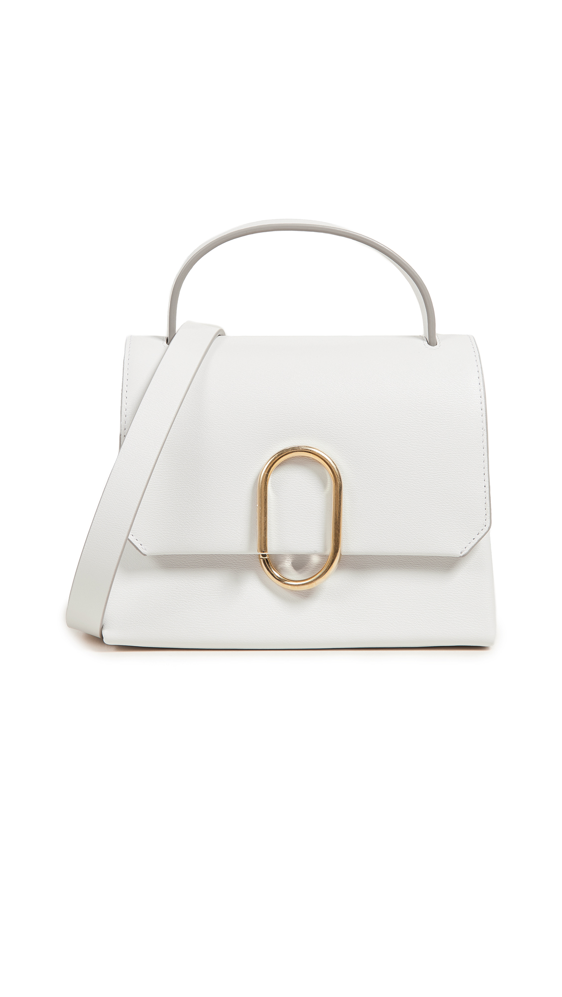 3.1 Phillip Lim Alix Mini Top Handle Satchel - Antique White