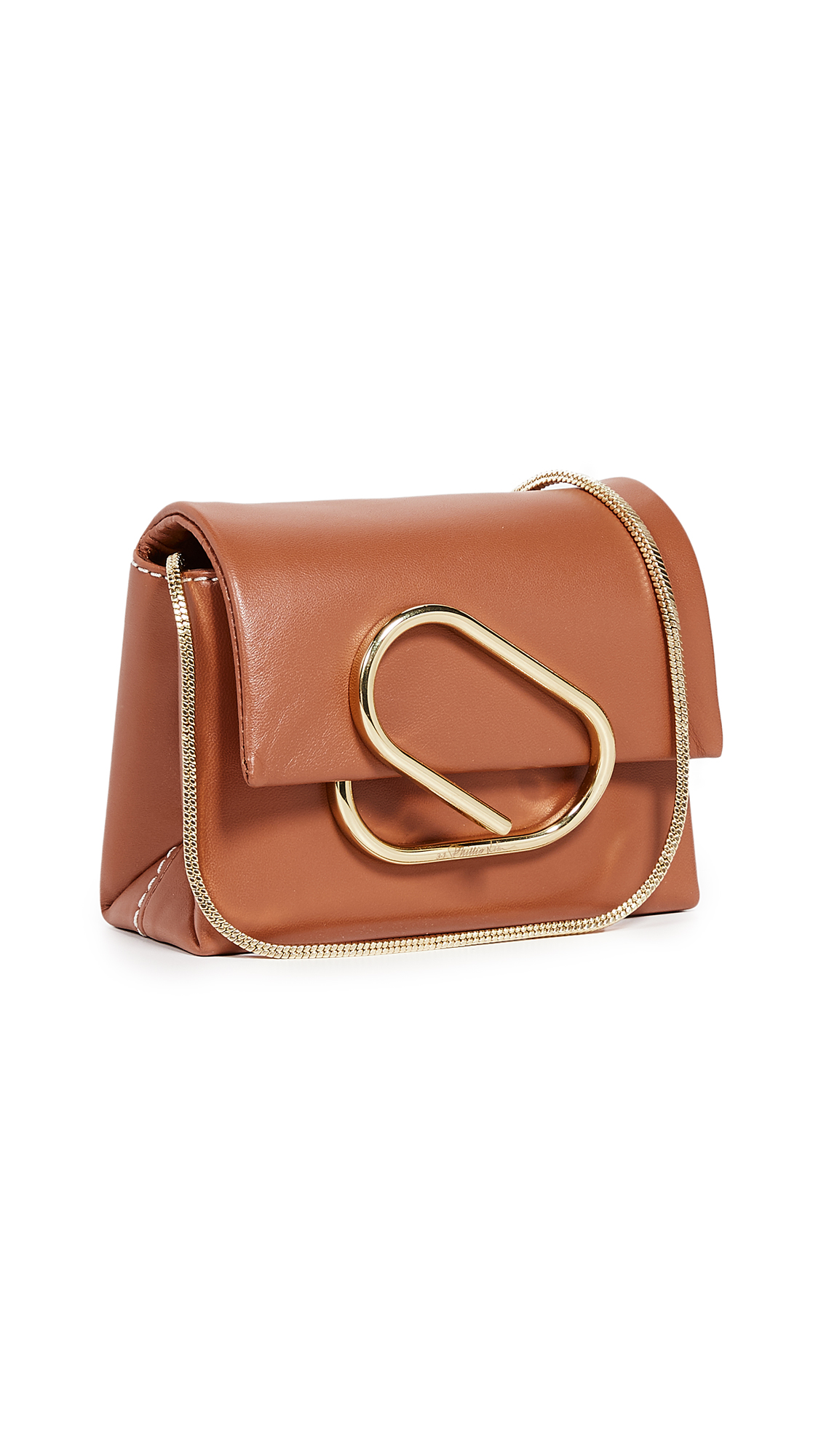 3.1 Phillip Lim Alix Micro Crossbody Bag - Cognac