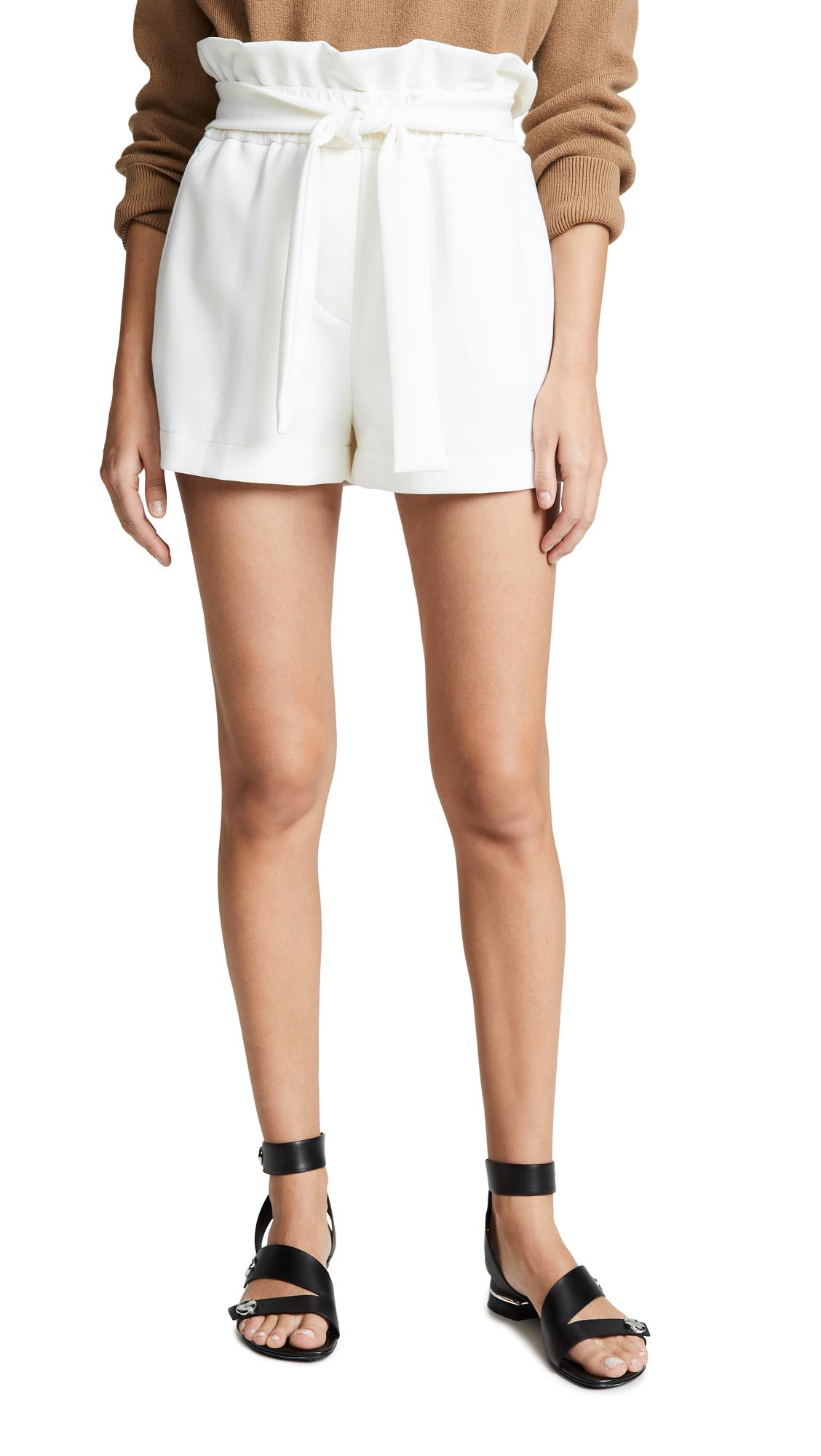 3.1 Phillip Lim Paper Bag Shorts - Ant. White