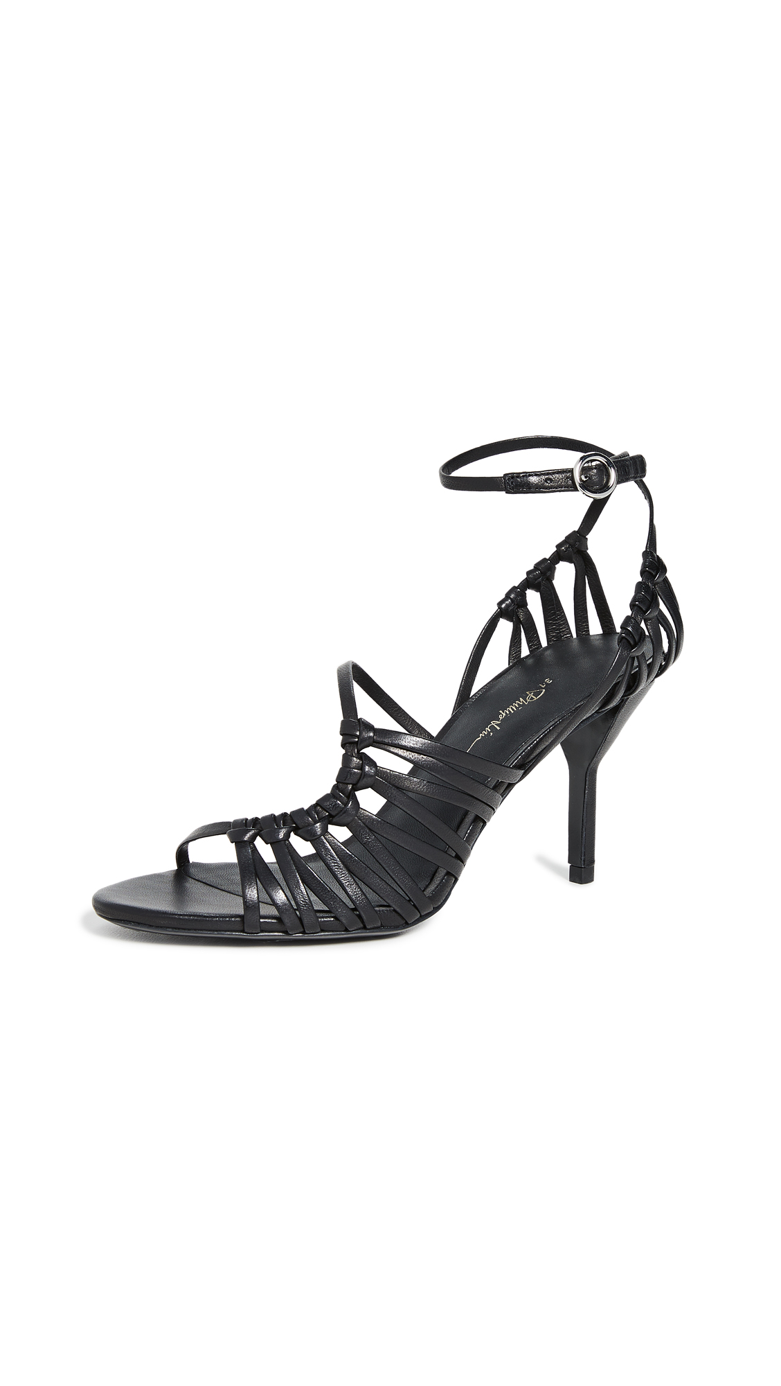 Buy 3.1 Phillip Lim 75mm Lily Strappy Sandals online, shop 3.1 Phillip Lim