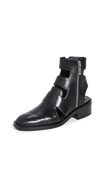 3.1 Phillip Lim Alexa 40mm Cutout Boots