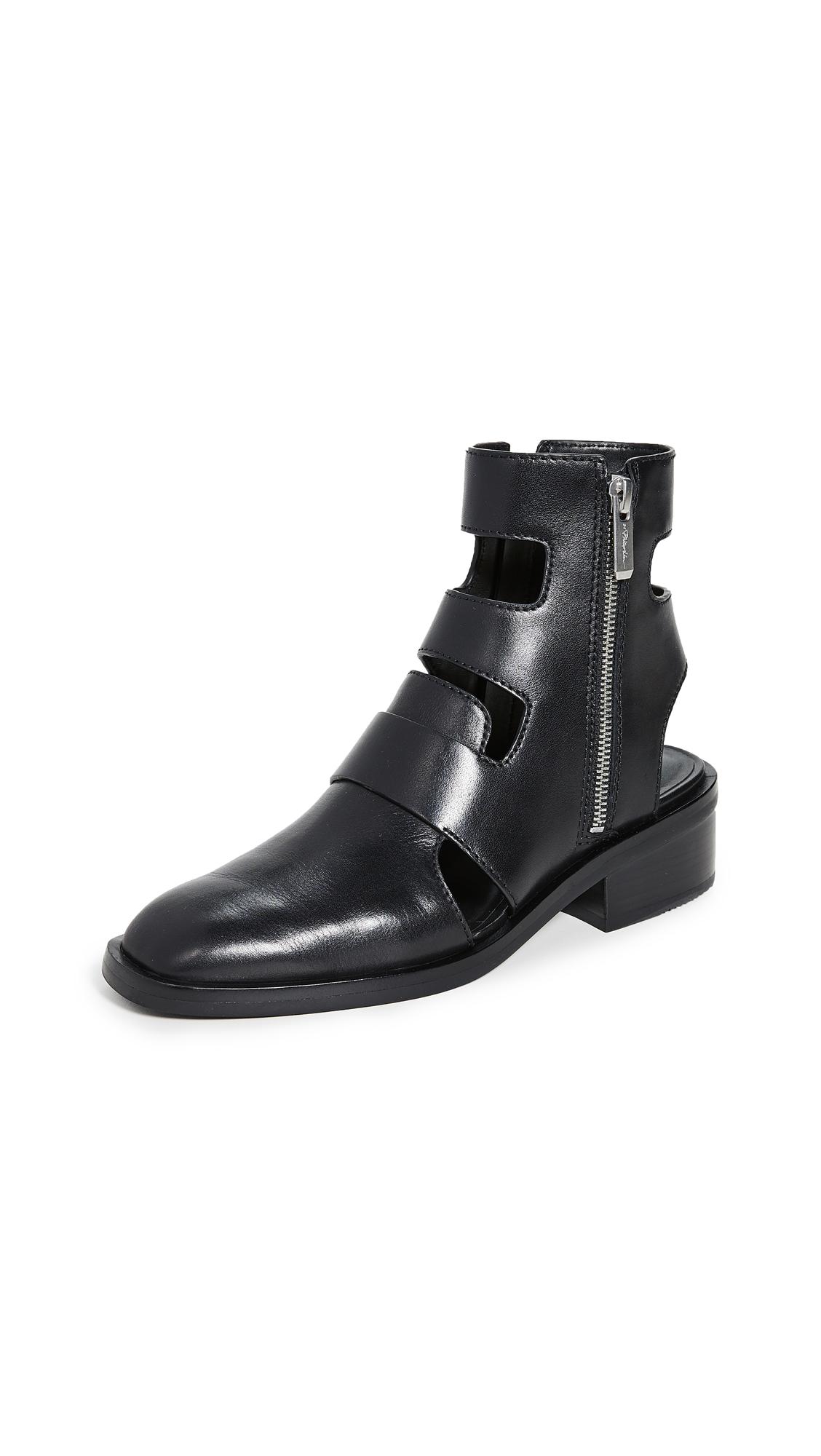 Buy 3.1 Phillip Lim Alexa 40mm Cutout Boots online, shop 3.1 Phillip Lim