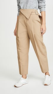 3.1 Phillip Lim Belted Overlap Trousers