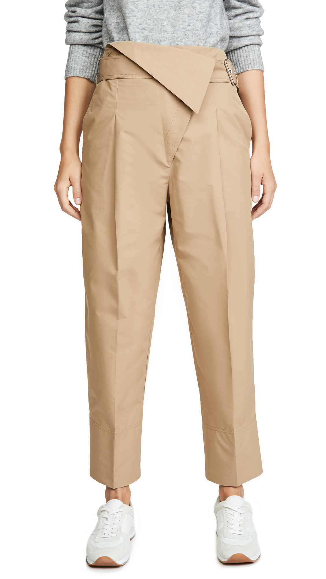 Buy 3.1 Phillip Lim online - photo of 3.1 Phillip Lim Belted Overlap Trousers
