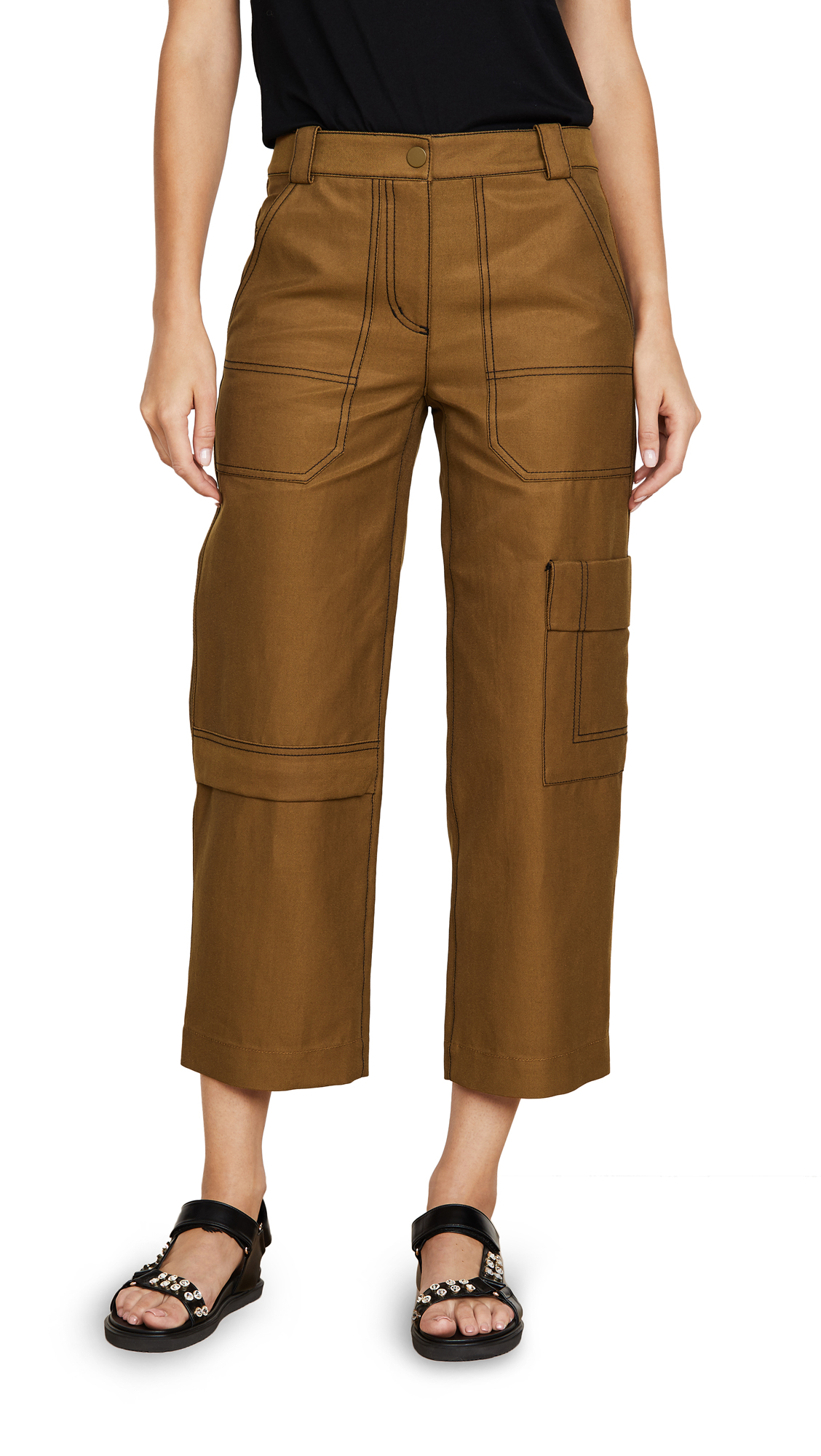 Buy 3.1 Phillip Lim online - photo of 3.1 Phillip Lim Twill Cargo Pants