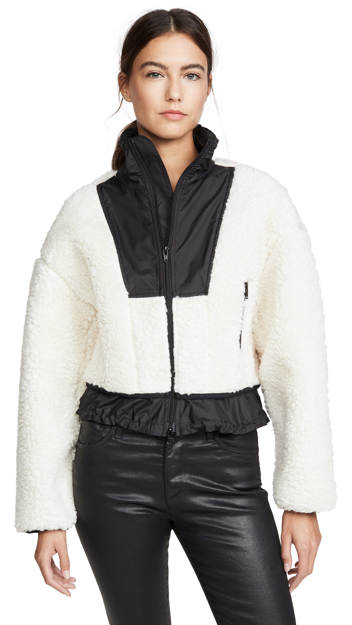 Buy 3.1 Phillip Lim online - photo of 3.1 Phillip Lim Cropped Bomber Jacket